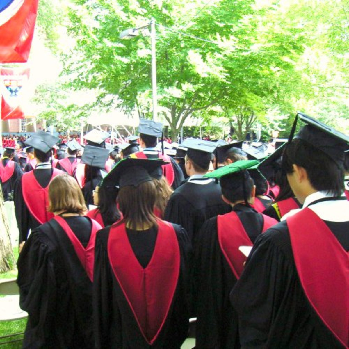 Harvard Commencement - graduates by Ginas Pics.