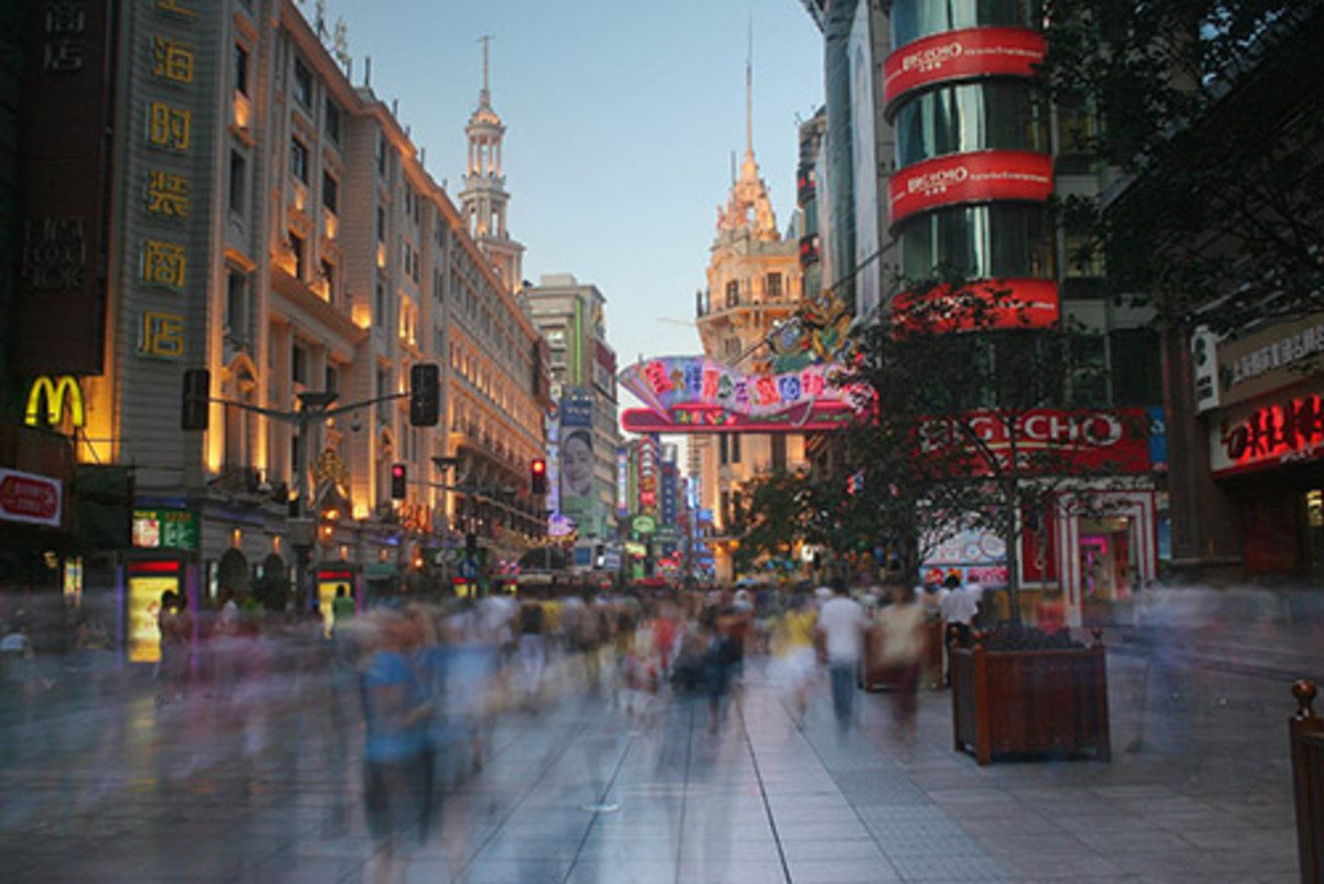 Shanghai China by flickrgao.