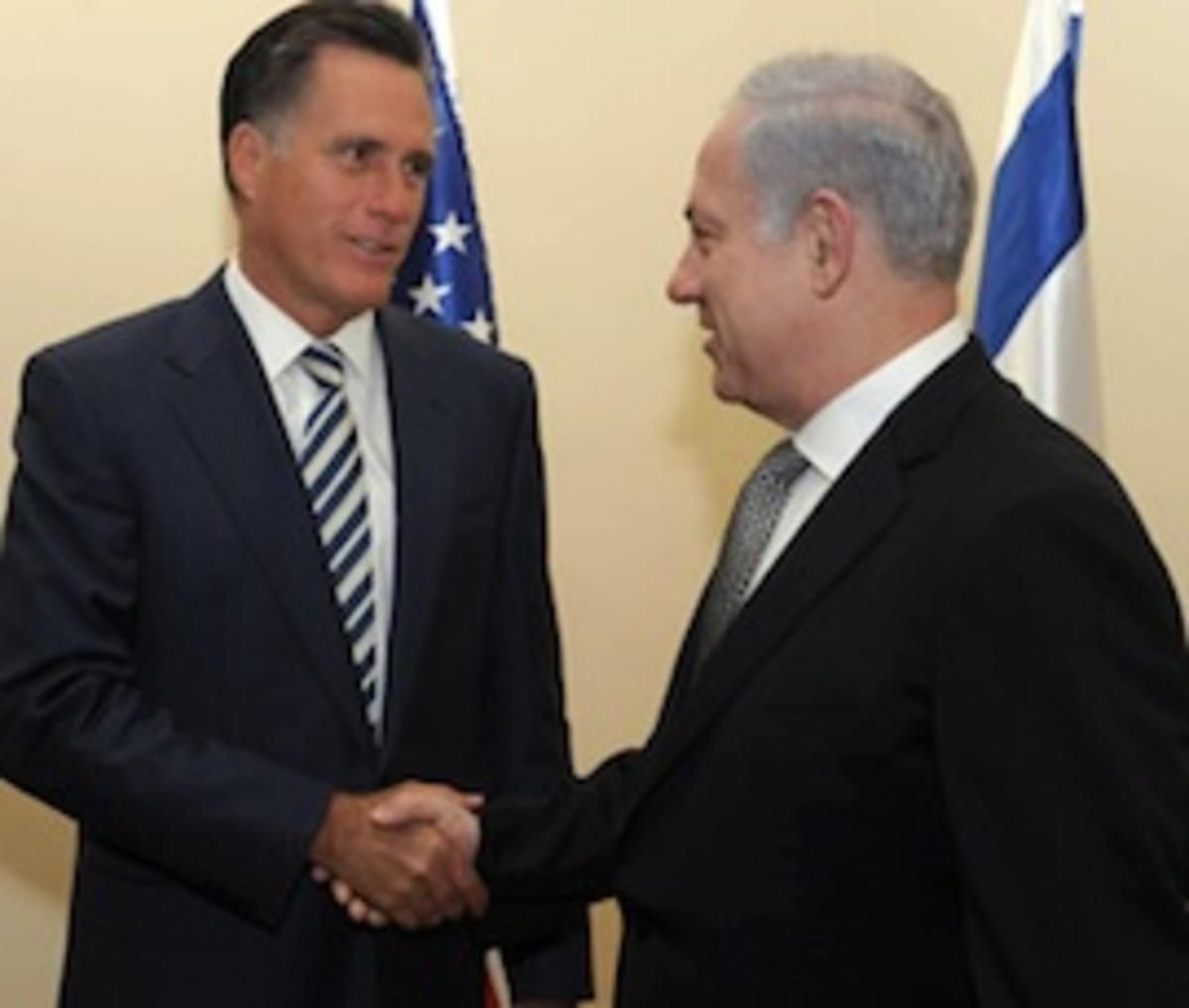 Israeli PM Meets With Mitt Romney