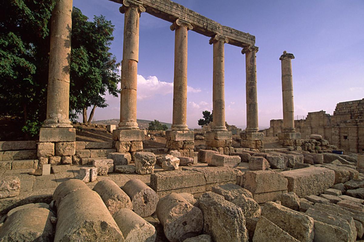 Roman Ruins #1, Jerash - jerash, Jerash