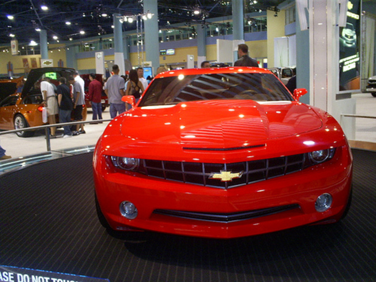 Autoshow Chevy camaro 2007 Cars, GM, Chevrolet, Auto show Miami Beach, by Fliker_2000.