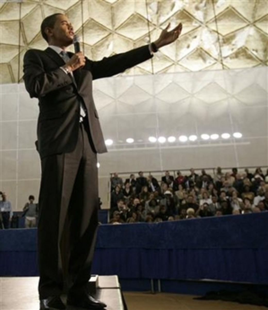 Barack Obama Speaks In Philadelphia