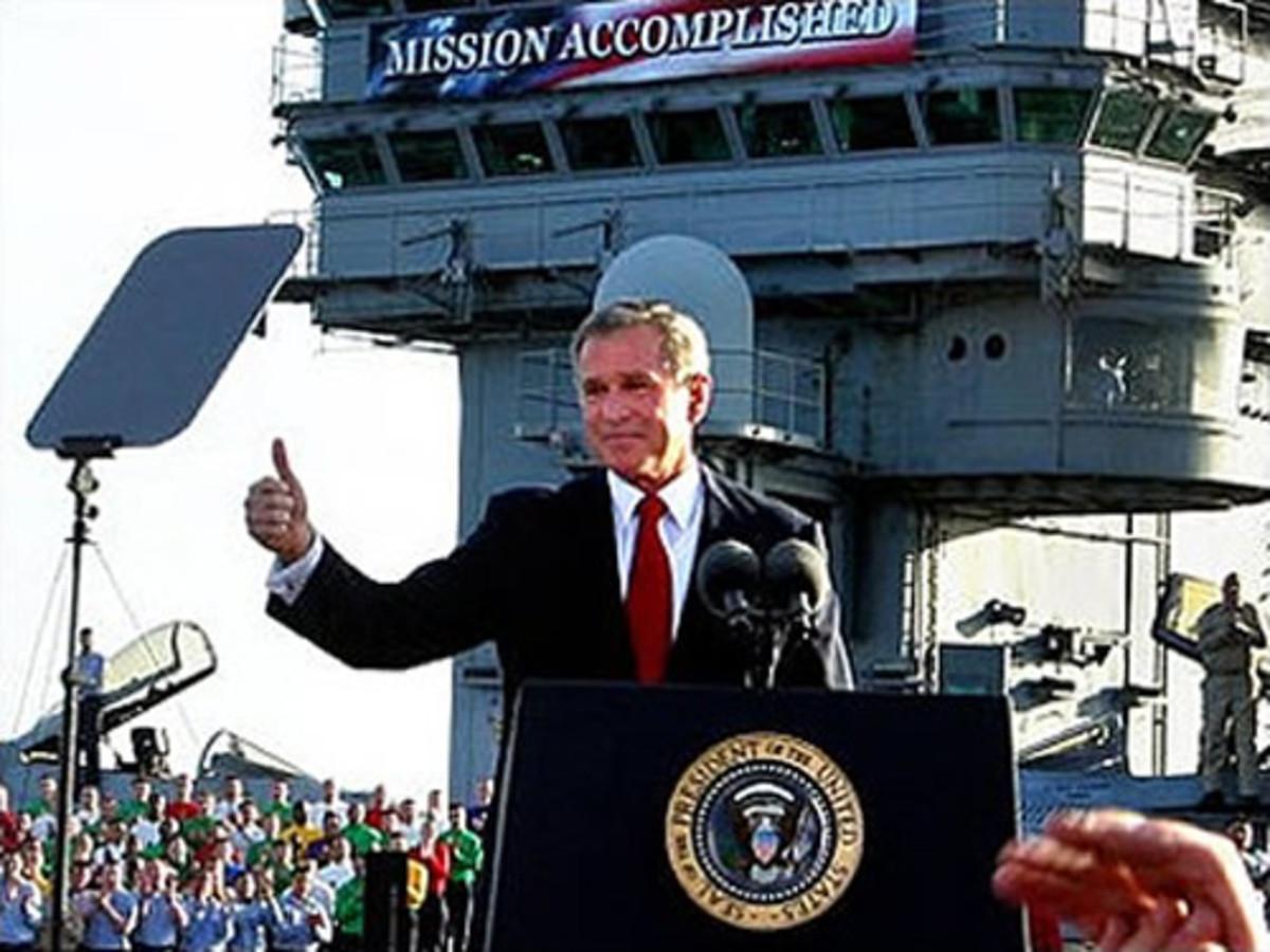 Bush: Mission Accomplished
