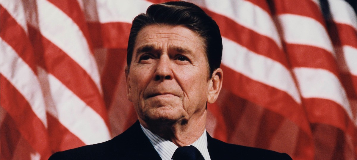 Ronald Reagan: Perpetuated the myth of the lazy liberal