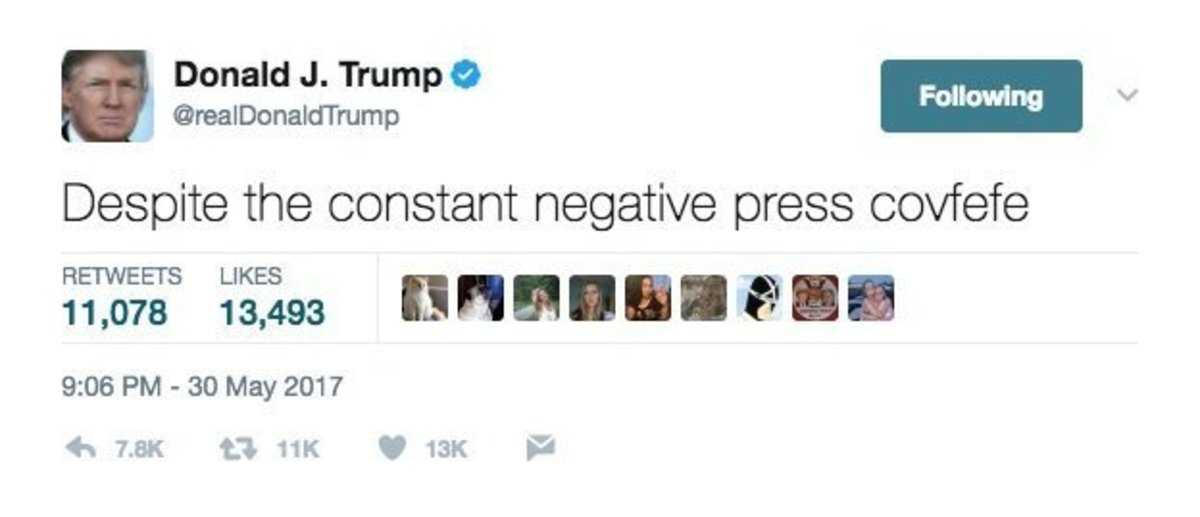 trump drunk tweet