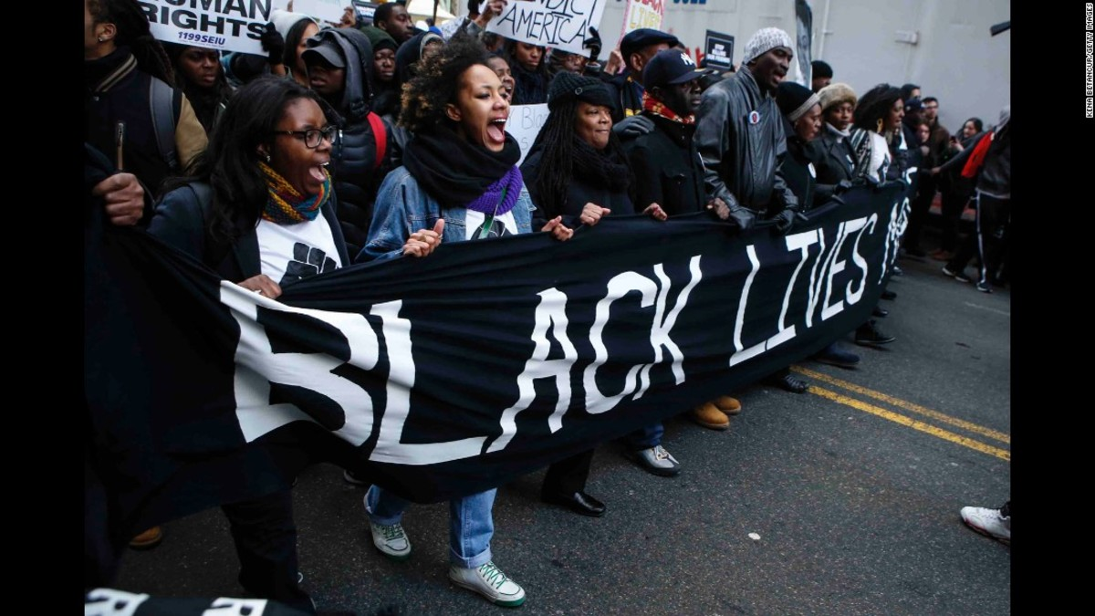 Every conservative white person's worst nightmare: Unarmed black people demanding equal rights.