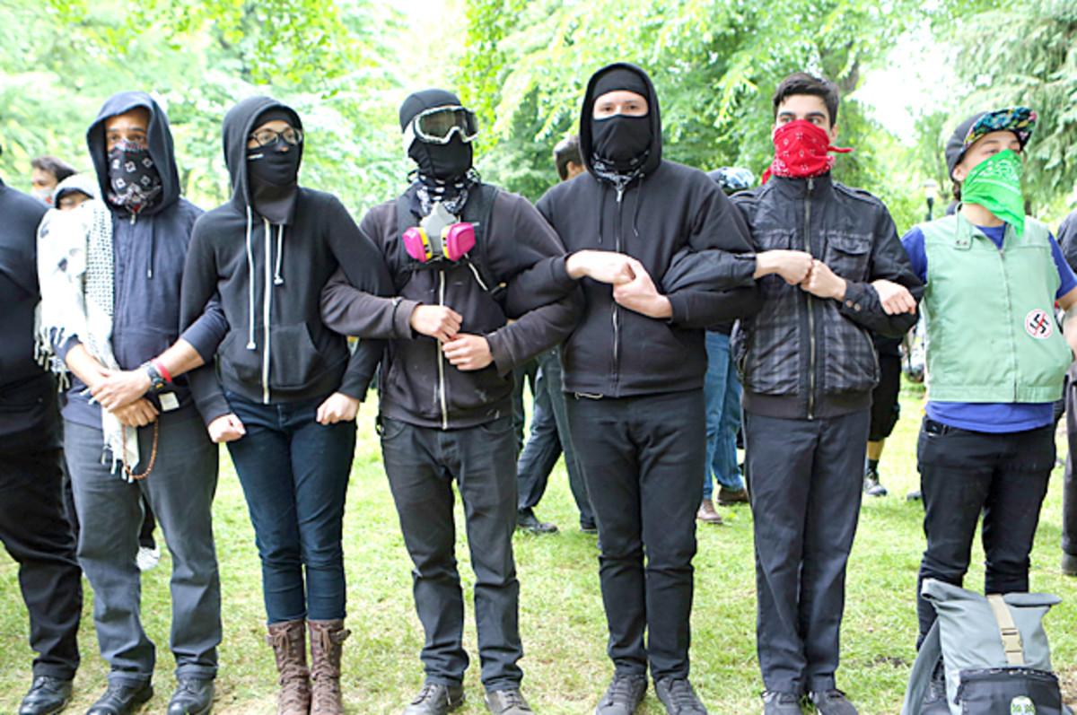 Antifa: resisting fascism in America