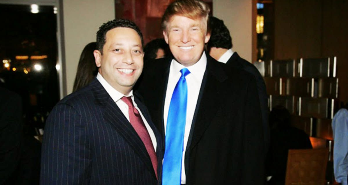 Trump and Sater.