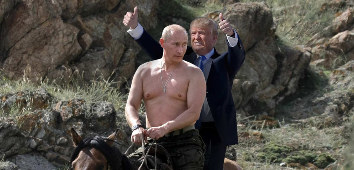 Putin and his understudy.