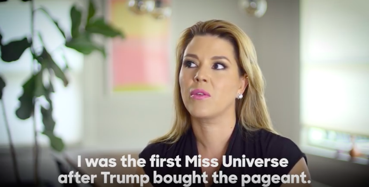 Alicia Machado: Definitely not voting for Donald Trump.
