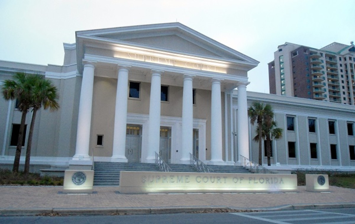Florida Supreme Court building via Wikimedia