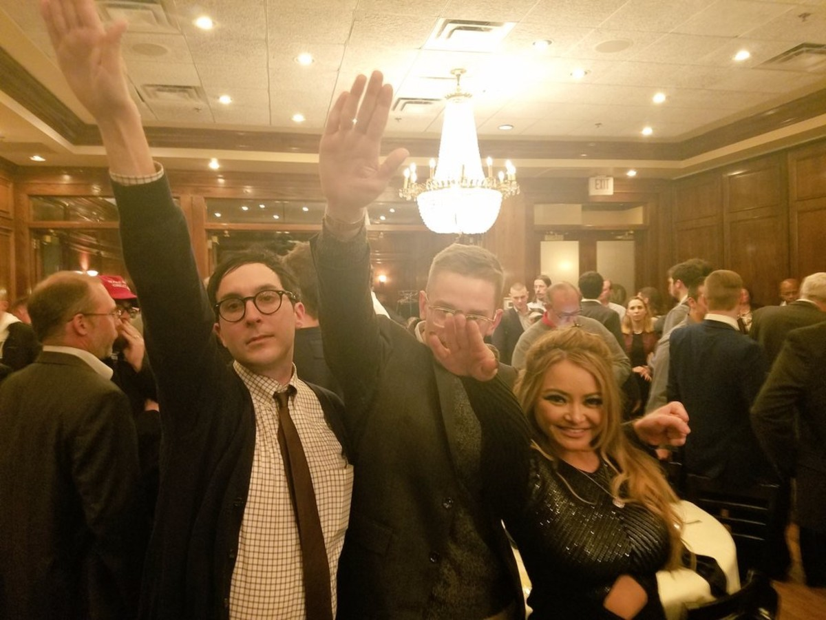 nazi salute richard spencer