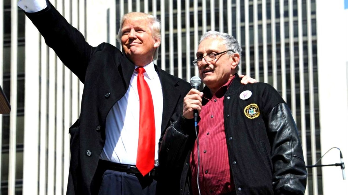 Trump with Paladino in New York