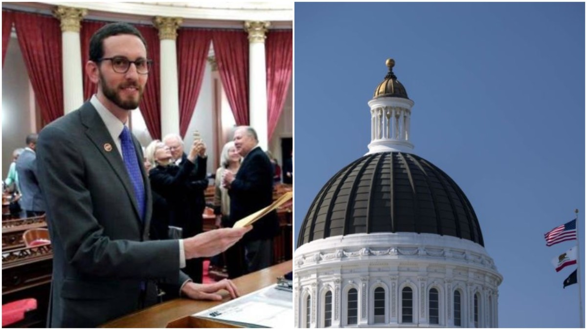 Senator Scott Wiener, the California state assembly in Sacramento