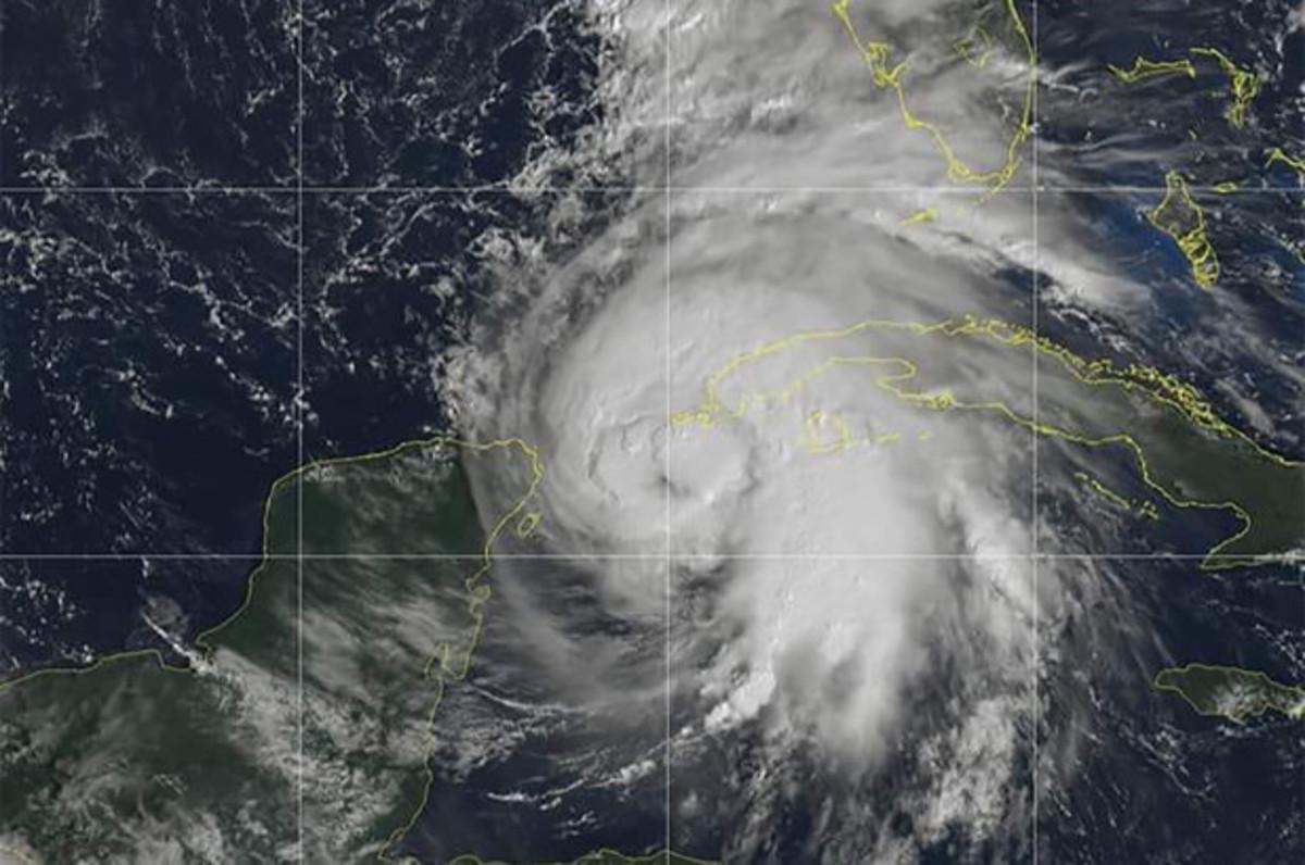 Hurricane Michael (image via The New York Post).