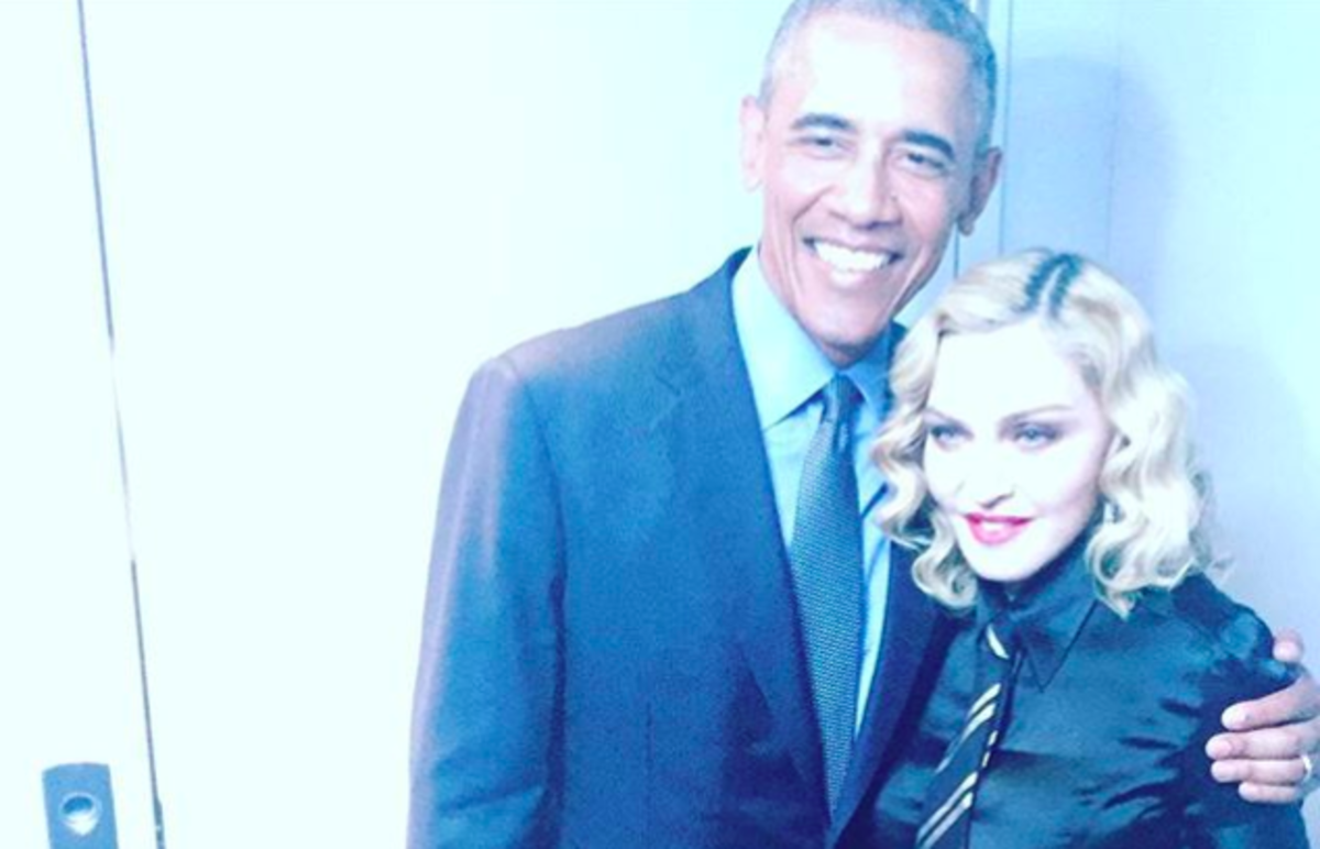via Madonna's Instagram
