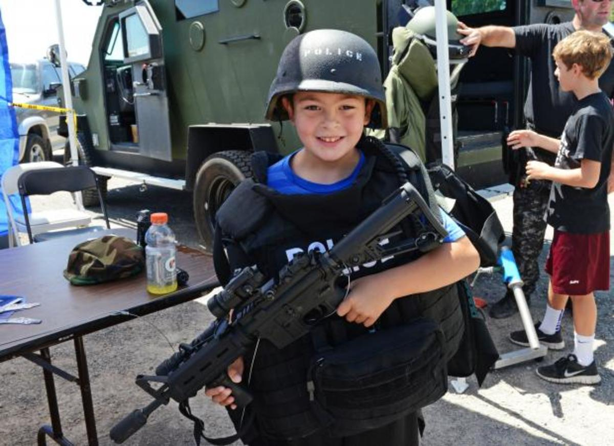 CQK Student Prepares for Breaching Class