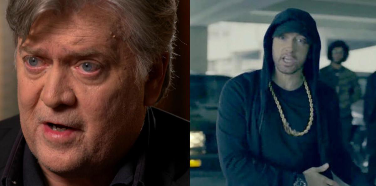 Bannon vs Eminem