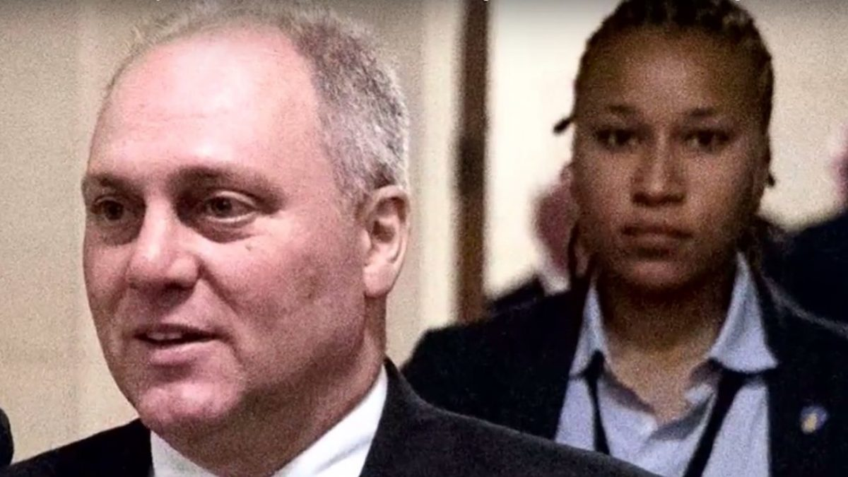 Steve Scalise: Saved by a black lesbian, still a racist homophobe.