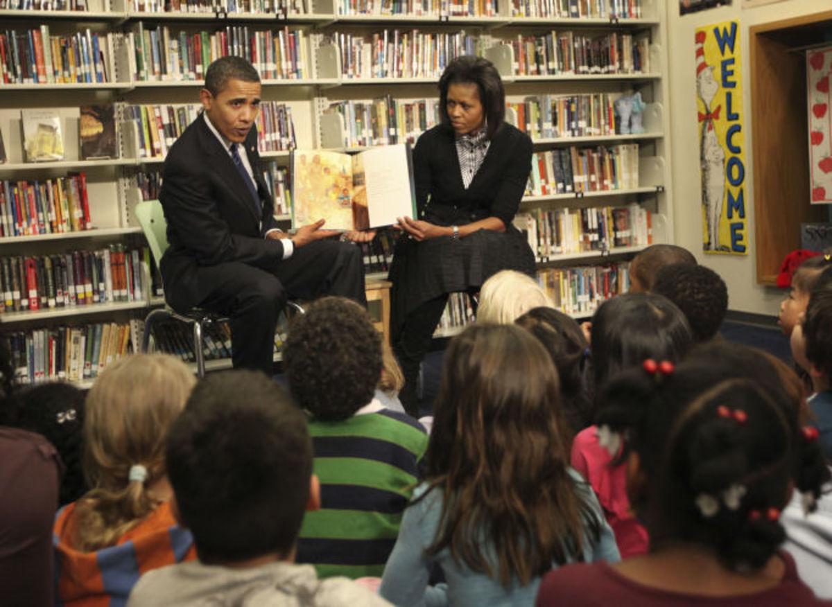 Obamas Reading Two