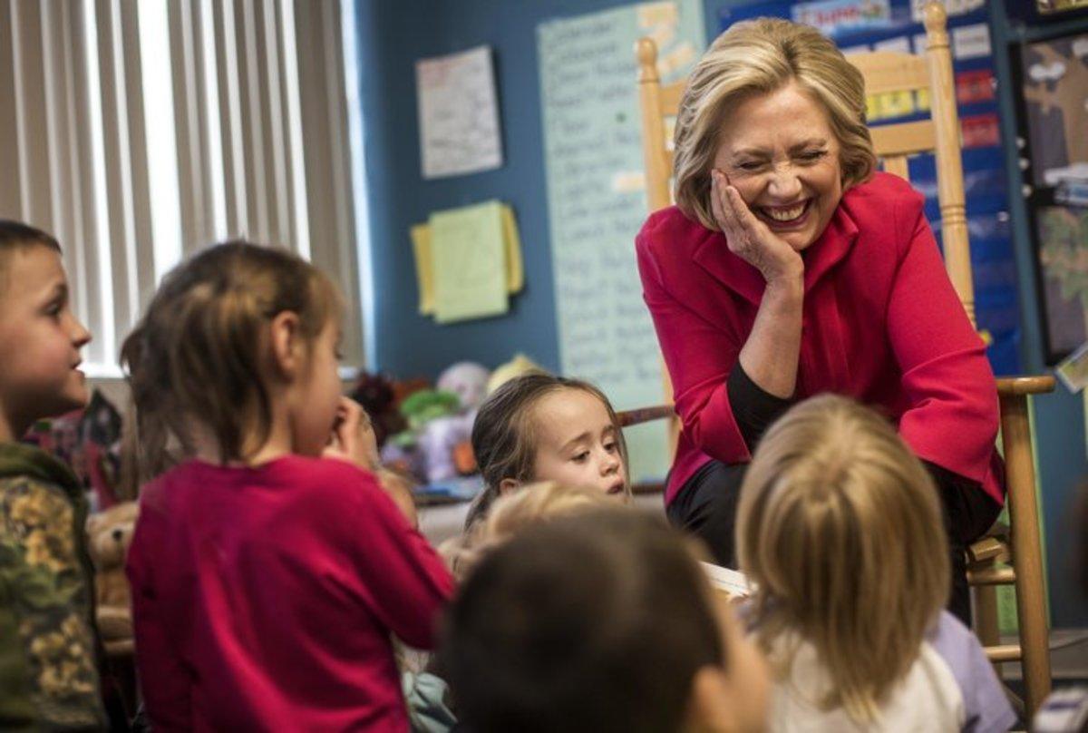Hillary Reading One