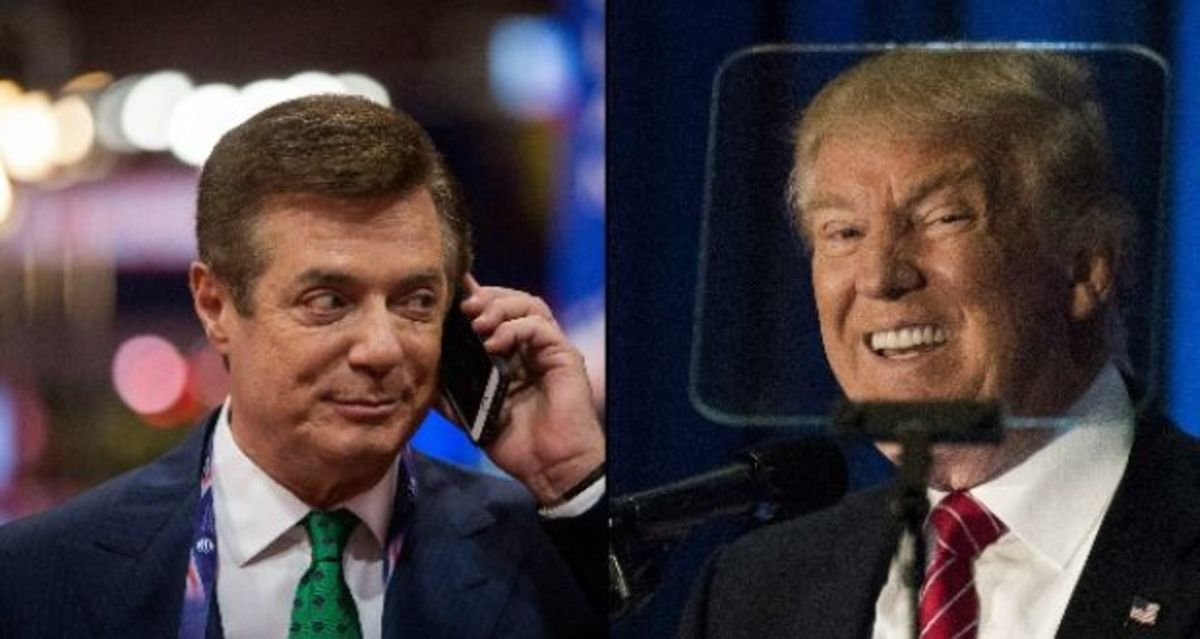 Manafort Reminding Trump About All Those Recorded Conversations He Still Has Shortly After the Indictment Came Down