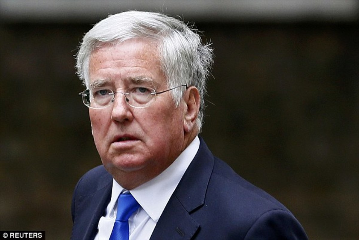 "Former UK Secretary of Defence Michael Fallon aka ""That English Dude Who Harassed Those Women But One is Apparently Over It or Something."""