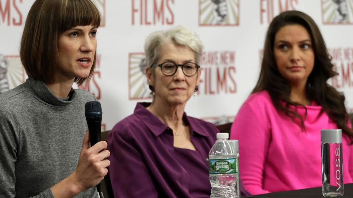 Jessica Leeds, Samantha Holvey and Rachel Crooks are attempting to hold Trump accountable for his crimes against them.