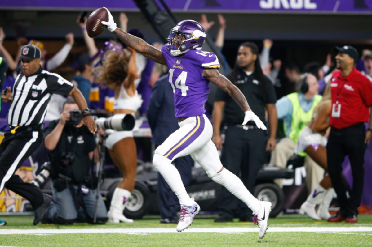 Vikings wide receiver Stefon Diggs.
