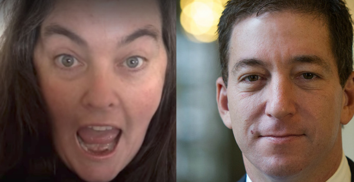 Caitlin Johnstone and Glenn Greenwald