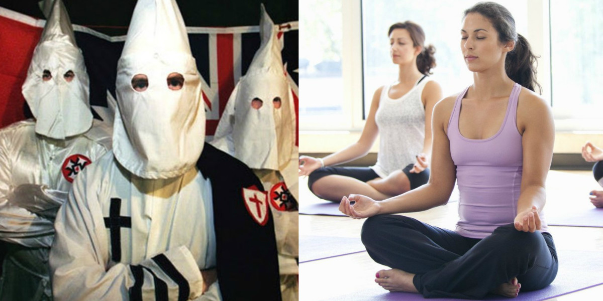 yoga klu klux klan
