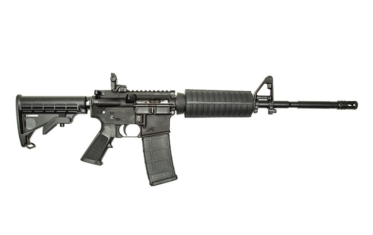 The AR-15, America's killing weapon of choice.