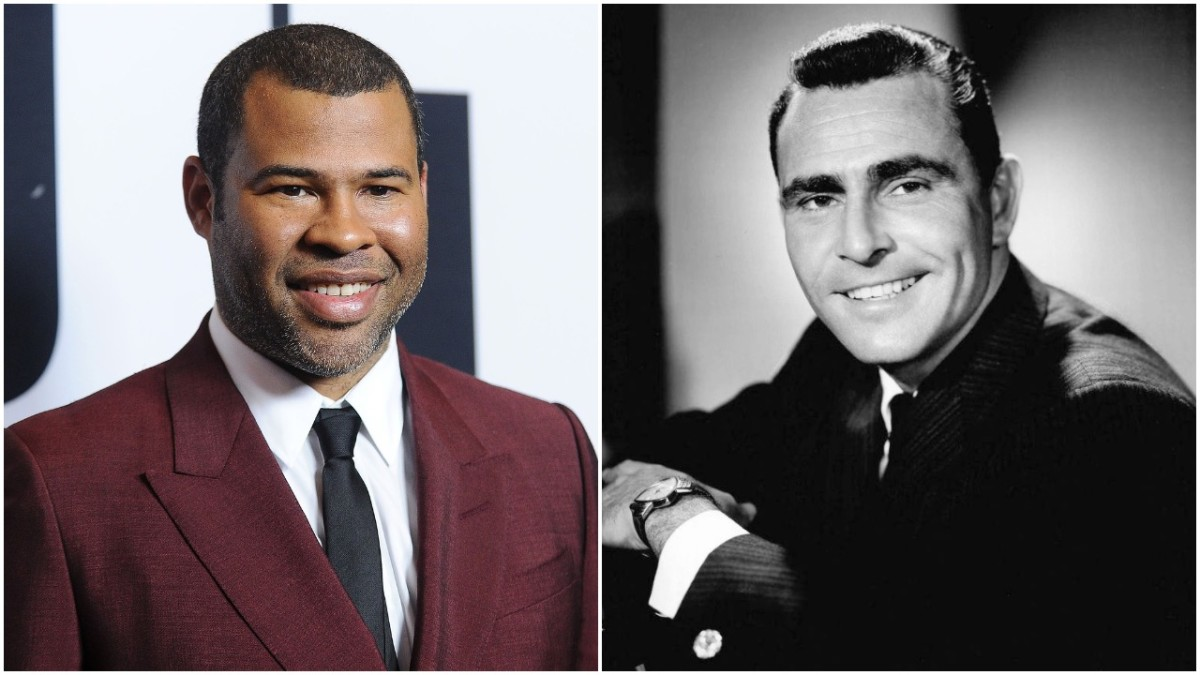 Jordan Peele, Rod Serling