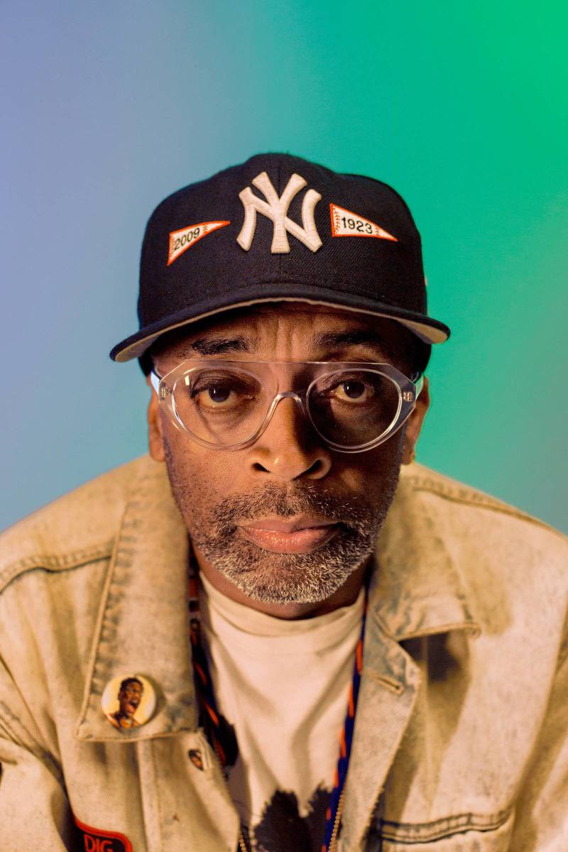 Spike Lee, photograph courtesy of Time Magazine